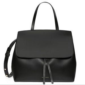 Mansur Gavriel mini Lady bag black/red